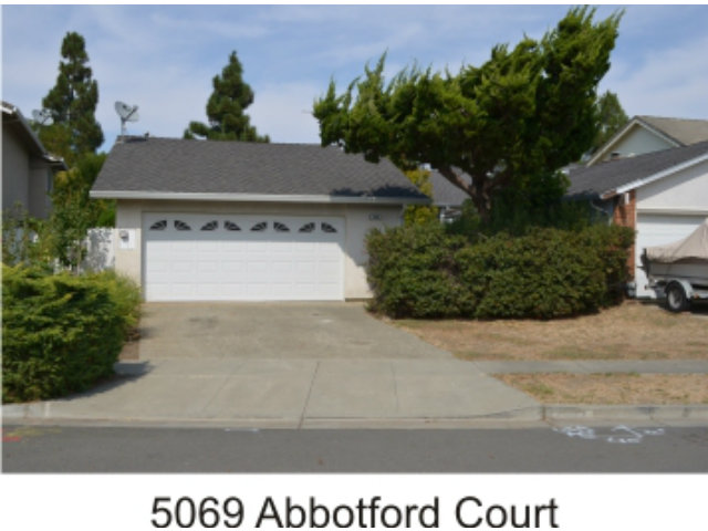 Rental Homes for Rent, ListingId:29293448, location: 5069 Abbotford CT Newark 94560