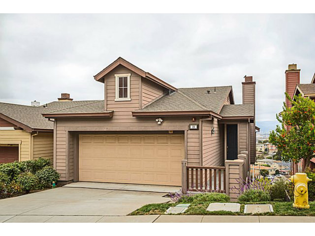 Single Family Home for Sale, ListingId:29647755, location: 19 POINTE VIEW PL South San Francisco 94080