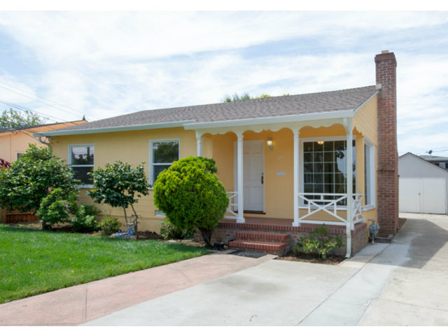 Single Family Home for Sale, ListingId:29307516, location: 829 N CLAREMONT ST San Mateo 94401