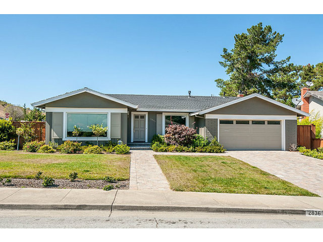 Single Family Home for Sale, ListingId:29712951, location: 2836 BENSON WY Belmont 94002