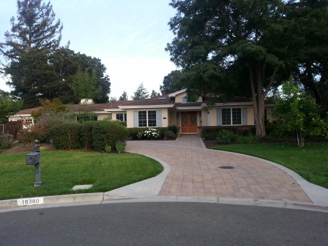 Rental Homes for Rent, ListingId:29126393, location: 18380 SAGE CT Saratoga 95070
