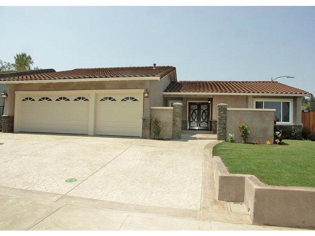 Single Family Home for Sale, ListingId:29429425, location: 6511 PLAINVIEW CT San Jose 95120