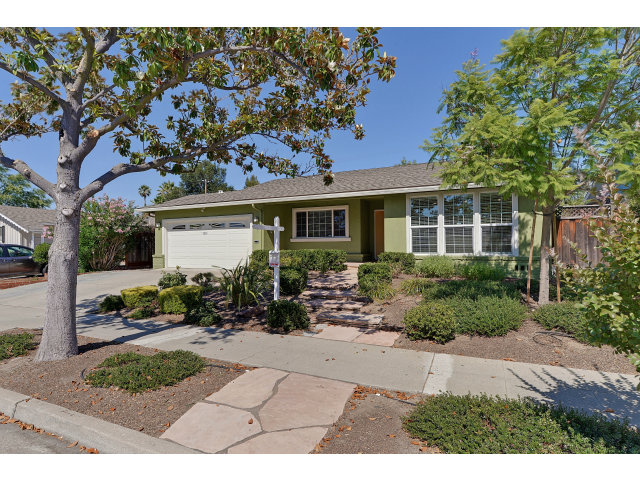 Single Family Home for Sale, ListingId:28954326, location: 1366 BOBWHITE AV Sunnyvale 94087